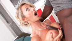 MILF Marina Beaulieu Tastes her First Big Black Cock